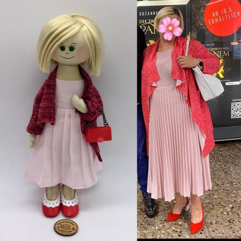 Personalised Puppet made after your photo